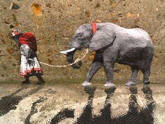 Miniature Street Art – Pablo Delgado