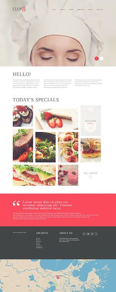 Gourmet Club WordPress Theme