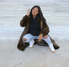 Love this low key look. Fall Outfits, Cute Outfits, Fashion Outfits, Swaggy Outfits, Black Girl Magic, Black Girls, Beautiful Black Women, Fashion Killa, Fashion Forward