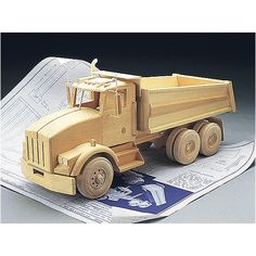 Kenworth Dump Truck Plans | Grizzly Industrial