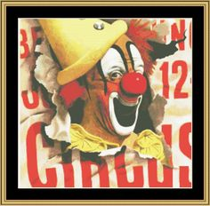 Circus [VP-313] - $16.00 : Mystic Stitch Inc, The fine art of counted cross stitch patterns