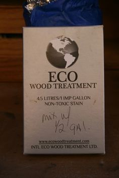 For graying wood: Eco Wood Treatment: eco friendly, non toxic, and doesn't stain anything but wood. No need for drop cloths,or masking, protects the wood; and a Canadian product! Unique Furniture, Painted Furniture, Furniture Ideas, Adult Crafts, Diy Crafts, Aged Wood, Drop Cloths, Non Toxic Paint, Paint Techniques