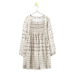 Geometric Print Dress | 41 Flower Girl Dresses That Are Better Than Grown-Up People Dresses