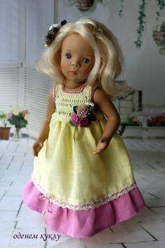 Льняные платья для Минуш и Паолочки / Одежда для кукол / Шопик. Продать купить куклу / Бэйбики. Куклы фото. Одежда для кукол