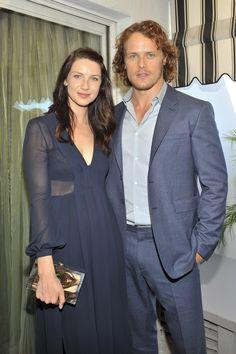 Sam Heughan & Caitriona Balfe at BAFTA LA event - Photo by Donato Sardella/Getty Images for Vanity Fair