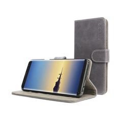 ASH GREY New Leather Wallet Cell Phone Case Holder Accessories For Galaxy Note 8 | eBay Ash Grey, Samsung Galaxy Note 8, Cell Phone Cases, Leather Wallet, Notes, Ebay, Accessories, Report Cards, Phone Case