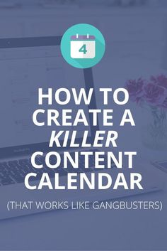 Use this step-by-step guide to create an awesome content calendar. Plus, free template inside. :)