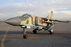 Introduced more than 40 years ago with the Russian air force, the Mikoyan-Gurevich MiG-23 is recorded in Flightglobal's MiliCAS database as remaining in use with the air forces of Angola, the Democratic Republic of Congo, Cuba, Ethiopia, Kazakhstan, Libya, North Korea, Sri Lanka, Syria and Zimbabwe.