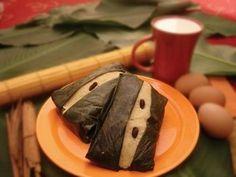 Quimbolitos, a sweet treat from Ecuador