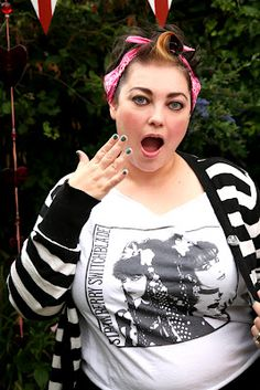 Great blog, with links to rockabilly & punk plus size clothing shops.* randomly looking ans said something I love if you like it wear it. I ALWAYS say I love that...but I would never wear it. I need to stop that.