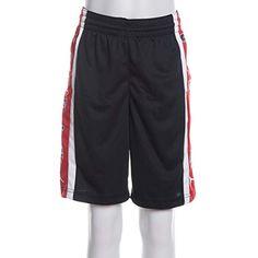 1eaffdebc26c86 Nike Pantaloncino Jordan Ragazzo con Stampa 955202-KR5 Black-Gym Red # Abbigliamento #Bambini e ragazzi #Abbigliamento sportivo #Pantaloni  sportivi ...