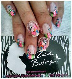 Nail Designs, Toys, Tattoos, Nails, Style, Colorful Nails, Pretty Nails, Work Nails, Toe Nail Art
