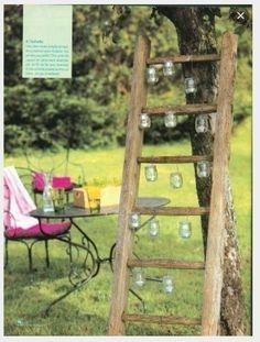 New diy dco mariage champetre decoration Ideas Wheat Wedding, Wedding Table, Rustic Wedding, Wedding Country, Deco Champetre, Diy Flowers, Garden Inspiration, Diy For Kids, Ladder Decor