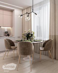 Enhance Your Senses With Luxury Home Decor Home Room Design, Dining Room Design, House Design, Luxury Kitchen Design, Interior Design Living Room, Home Living Room, Living Room Decor, Minimalist Dining Room, Appartement Design
