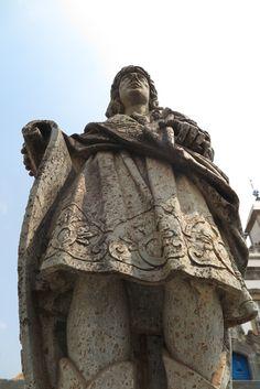 Escultura do Mestre Aleijadinho - Congonhas - Minas Gerais.