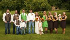 This bride wanted her entire bridal party to join in on the wedding cowboy boot trend. http://my.gactv.com/great-american-weddings/boots/sgallery.esi?soc=pinterest