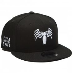 buy popular 58ba2 66b86 BAIT x Marvel Collection   BAIT. Black SnapbackSnapback CapMarvel ...