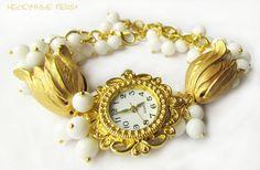 "Купить Часы ""Тадж-Махал"" - часы, часы наручные, наручные часы, женские часы, белый"