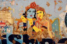 Krishna Vridavan Wall  Store - cococinema life travel photography