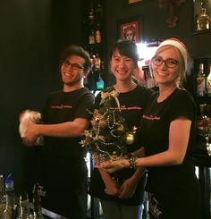 Staff at The Flying Burrito Brothers Albany getting jolly for the Christmas season. NZ Mexican- www.flyingburritobrothers.co.nz