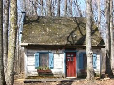 The Sugar Shack, everything covered in maple syrup <3