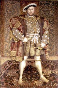 Holbein el joven. Retratos de Enrique VIII - Buscar con Google