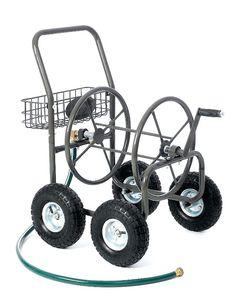 liberty garden hose reel residential 4 wheel steel hose reel cart liberty garden hose reel 703