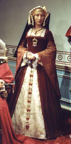 Jane Seymour in wax (Madame Tussaud's London)