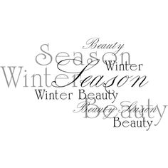 Cucciola_designs_Sweet_christmas_wa29.png ❤ liked on Polyvore featuring text, words, christmas, winter, quotes, filler, phrase and saying