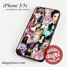 Beautiful Marina And The Diamonds Collage Phone case for iPhone 4/4s/5/5c/5s/6/6s/6 plus