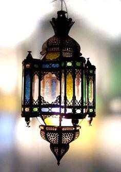 Moroccan Style lantern available at www.de-cor.com