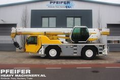 Used telescopic crane available at Pfeifer Heavy Machinery. Item Number PHM-Id 07527, manufacturer PPM, model ATT400/3, year of construction 2002, kilometers 168319, loading (lifting) capacity (kg) 35000, boom length maximum (m) 30, fuel Diesel. More cranes at www.pfeifermachinery.com.