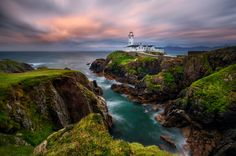 Last Light at Fanad Head.  Ireland by Daniel on 500px