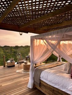 Luxurious and intimate, this small camp is positioned on the banks of the the Sabie River, South Africa, with views across to the Kruger National Park beyond. Perfect accommodation for a honeymoon or a couple who want a bit of privacy. Timbuktu Travel.
