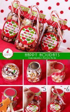 Homemade Christmas Gifts, Christmas Goodies, Christmas Treats, Homemade Gifts, Christmas Fun, Holiday Gifts, Holiday Cookies, Santa Gifts, Christmas Presents