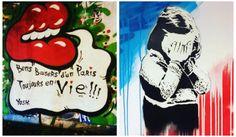 Top 25 des œuvres de street art hommages aux victimes du 13 novembre et à Paris