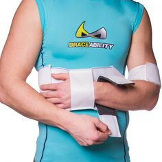 how to put on a shoulder immobilizer sling