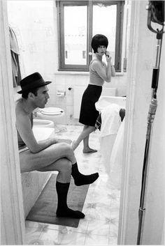 Le Mépris : photo Brigitte Bardot, Jean-Luc Godard, Michel Piccoli - Découvrez une de nos vidéos :) http://studiocigale.fr/films/?catid=1&slg=temoignages-clients-keune-business-video