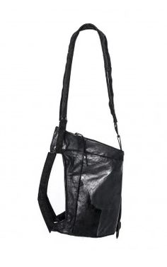 WAXED LEATHER BAG