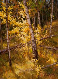 brushstrokes by Mark Haworth