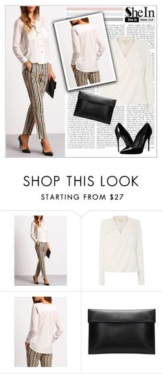 """""""Sheinside"""" by water-polo ❤ liked on Polyvore featuring Michael Kors, Dolce&Gabbana, Sheinside and polyvoreeditorial"""