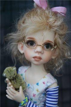 cute kid with stuffed animal