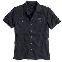 R- You'd look so good in this...$60 @ Harley Davidson. Men's #1 Short Sleeve Garage Shirt