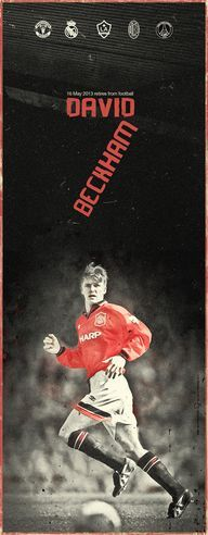 Tribute to David Beckham has retired from football, bringing an end to a glittering career on the field. Football Is Life, Football Art, World Football, Vintage Football, Manchester United Legends, Manchester United Players, David Beckham Manchester United, Soccer Art, Soccer Tips