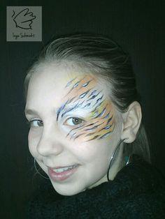 Tijger meisje - Natuurlijke schmink IngeSchminkt Maarssen