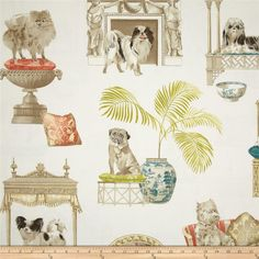P Kaufmann Best In Show Puddle Fabric Toile Pinterest