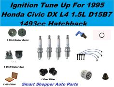 Tune Up Kit for 9802 Honda Accord Serpentine Belt, Spark