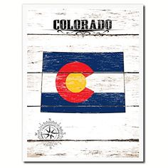 Colorado Flag State Handcrafted Artisan Primitive Plaque Cottage Chic Wall Art Décor Home Office Gift Idea AllChalkboard http://www.amazon.com/dp/B00Y3RZVUA/ref=cm_sw_r_pi_dp_SN1Ivb03P29JX