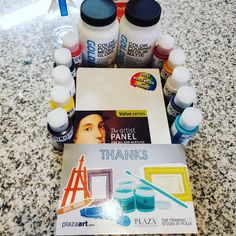 I can't be more excited!!, I never believed in contest and getting prizes but now I Do, than you so much @plaza_art for my prize!!!! I can't wait to create incredible art with my new material. 🥰💕 Than you so much 💓🖼 #Art lovers like me go and #follow them Maria Jose, Then And Now, I Can, Mixed Media, Believe, Lovers, The Incredibles, Canning, Instagram