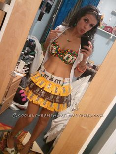 One of A Kind Sexy M Girl Costume... This site is the Pinterest of costumes
